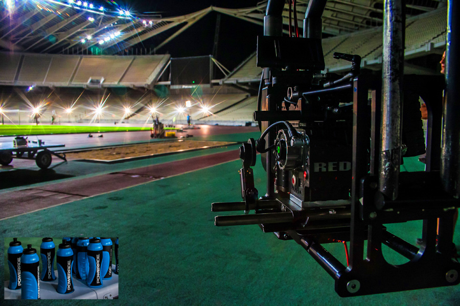 Powerade Commercial ATh | Olympic | Stadium